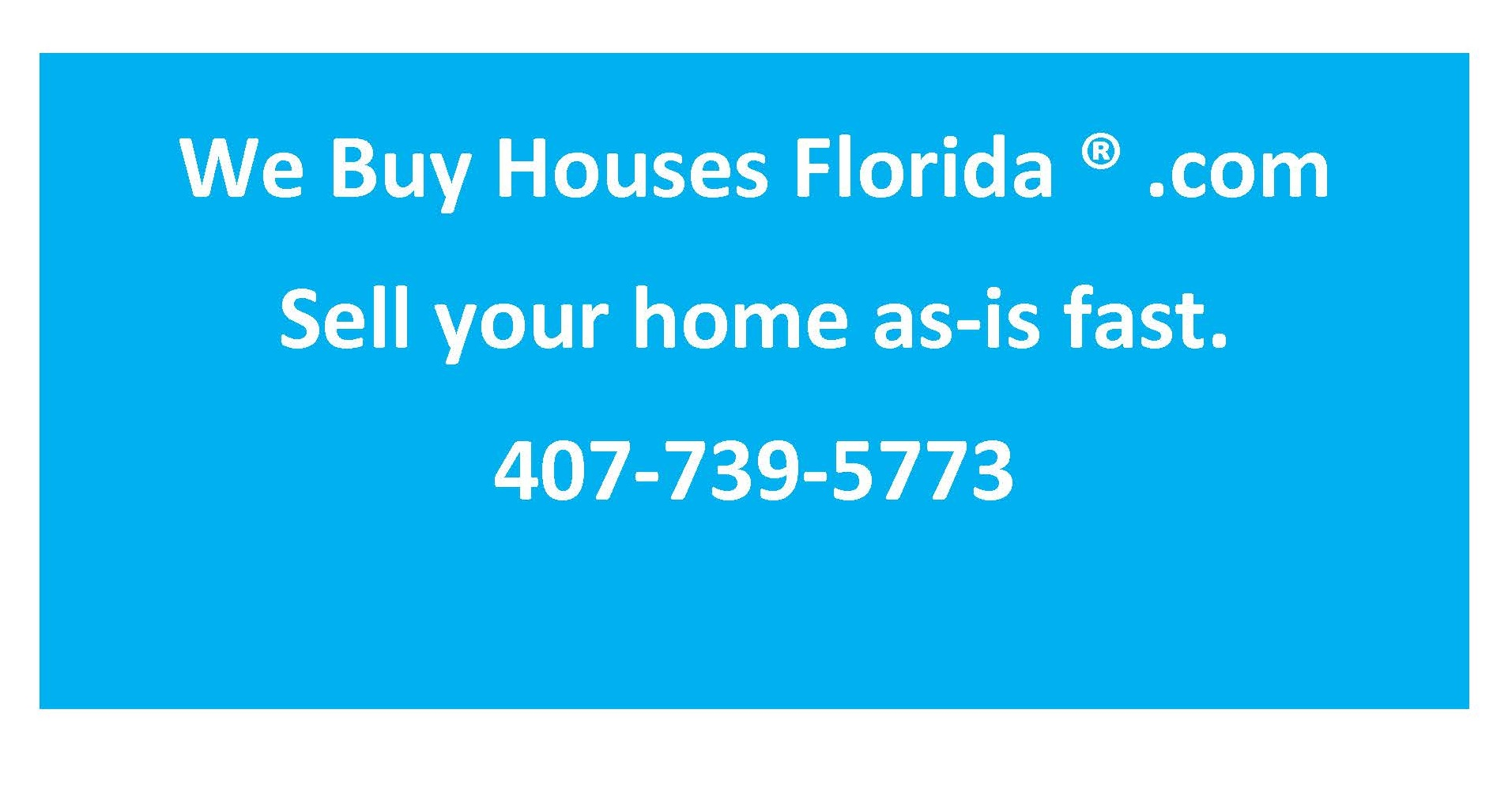 We buy houses Florida  Sell your home fast cash  Orlando